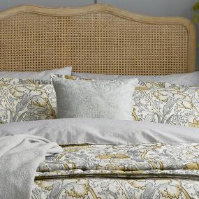 Morris & Co Pink & Rose Grey Cushion