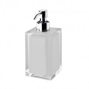 Rainbow White Soap Dispenser