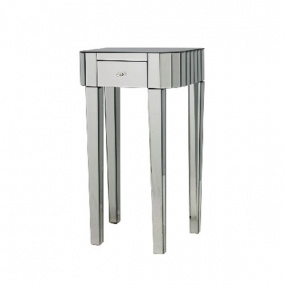 Mirrored Large Side Table