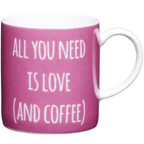 All You Need Porcelain Espresso Cup