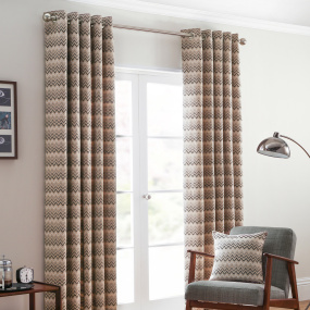 Belfield Rio Monochrome 90x90 Curtains