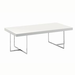 Torino White High Gloss Rectangular Coffee Table