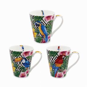 Exotic Birds Tapered Mug