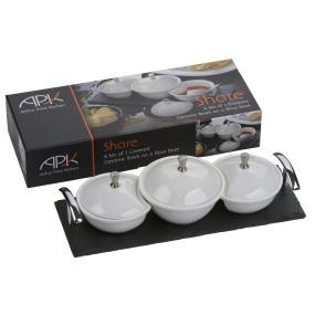 Arthur Price Set of 3 Ceramic Dishes