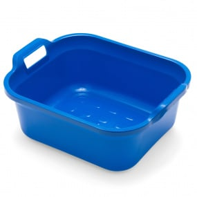 Addis 10 Litre Cobalt Blue Rectangular Washing Up Bowl
