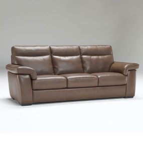 Natuzzi Editions Brivido Leather Recliner Sofa, Chair & Ottoman Collection
