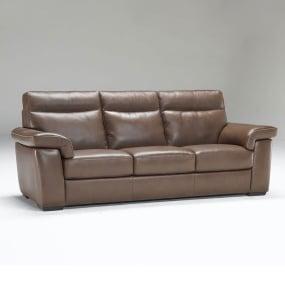 Natuzzi Editions Brivido Leather Recliner Sofa, Chair & Ottoman Collection