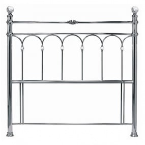 Bentley Designs Krystal Antique Nickel Headboard Collection