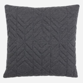 Riva Paoletti Conran Charcoal Cushion Cover