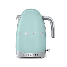 Smeg 50's Retro Style Pastel Green Temperature Control Kettle