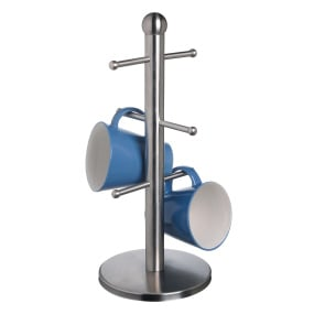 Master Class Deluxe Stainless Steel Mug Tree