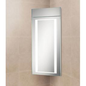 Illuminated Corner Cabinet | Housing Units