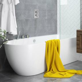 EBB Hybrid Shower Bath (righthand)