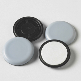 Magiglide Pack of 4 Round 70mm Self Adhesive Pads