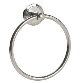 Miller Oslo Polished Nickel Towel Ring