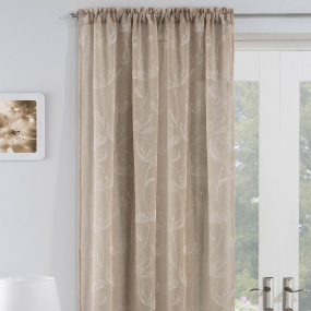 Freya Natural 55x54 Voile Panel