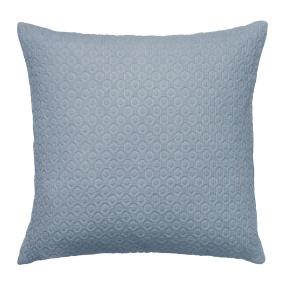 Holly Waffle Dusty Blue Cushion