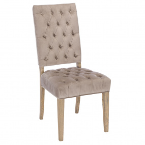 Rose Cream Dining Chair