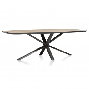 Sonata Rectangular 240cm Dining Table Side View