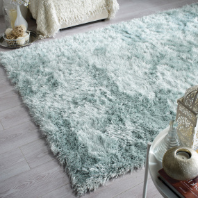 Glitz Duck Egg Rug Collection