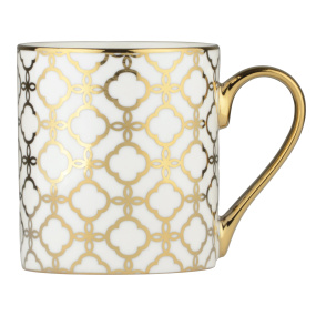 Links Gold Straight Mug