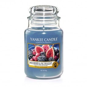 Yankee Candle Mulberry Fig Large Jar