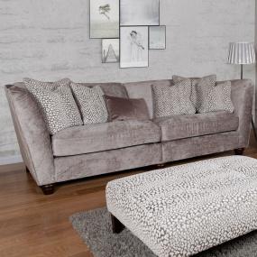 Bowden Truffle 4 Seater Modular Sofa