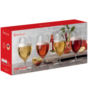 Spiegelau Set of 4 Cider Glasses