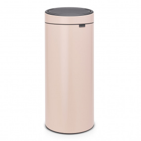 Brabantia 30 Litre Touch Bin New Clay Pink