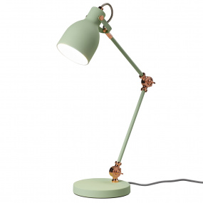 Wild & Wolf Swedish Green Task Desk Lamp
