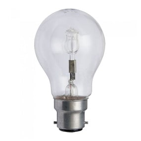 Crompton Halogen Clear GLS BC B22 42W Light Bulb