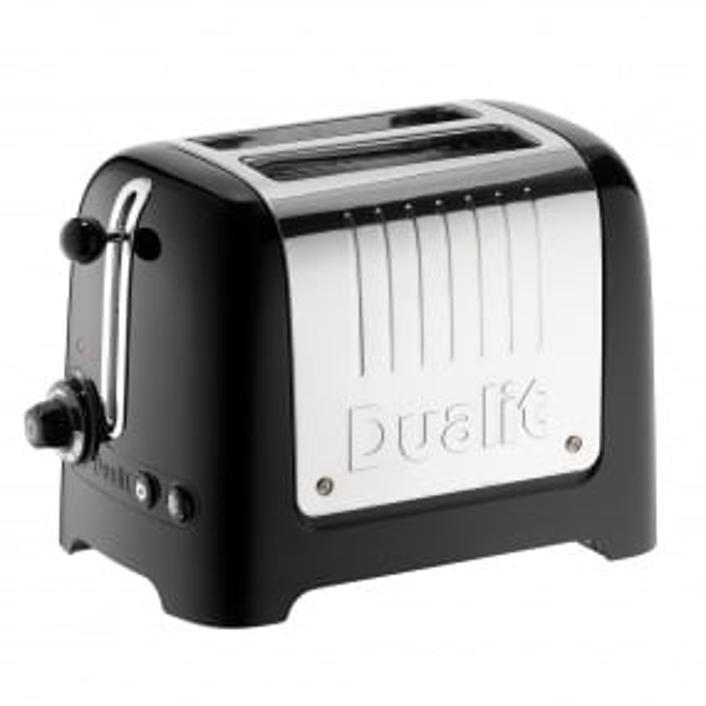Dualit Lite Black 2 Slice Toaster
