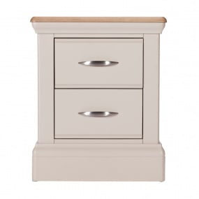Caldey 2 Drawer Bedside Chest