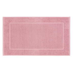 Christy Supreme Hygro Pink Towelling Bath Mat