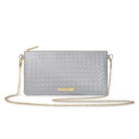 Katie Loxton Freya Grey Crossbody Bag