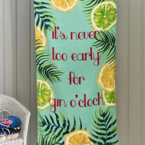 Deyongs Gin O'Clock Beach Towel