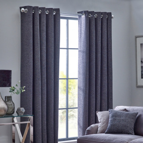 Belfield Orion Graphite 90x72 Curtains