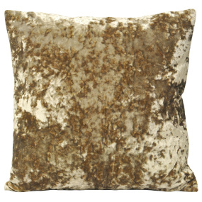 Riva Paoletti Roma Crushed Velvet Oyster Cushion