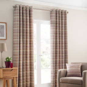 Belfield Carnival Berry 90x90 Curtains