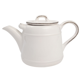 Pride of Place White 1.5 Litre Teapot