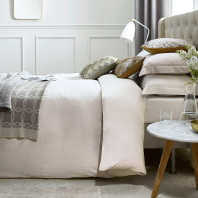 A simply beautifully luxurious single duvet from Peacock Blue