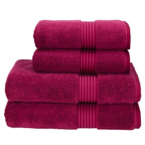 Christy Supreme Hygro Raspberry Bath Sheet