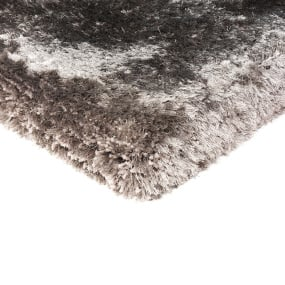 Plush Shaggy Zinc Rug Collection