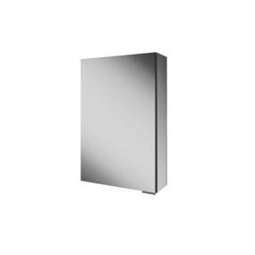 Eris 50 Non Illuminated Aluminium Bathroom Cabinet