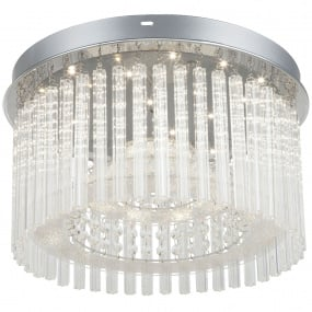 Joyce LED Semi Flush Ceiling Light