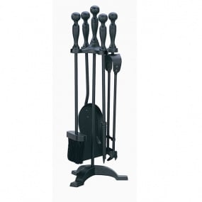 Black Companion Fireside Tool Set