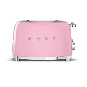 Smeg 50's Retro Style Pink 4x4 Slice Toaster