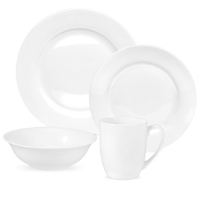 Portmeirion Royal Worcester Serendipity White 16 Piece Dinner Set