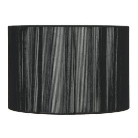 Silk String 16 Inch Black Drum Shade