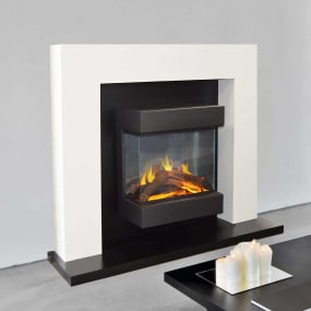 Evonic Fires Cassini Floor Mounted Electric Fire Suite